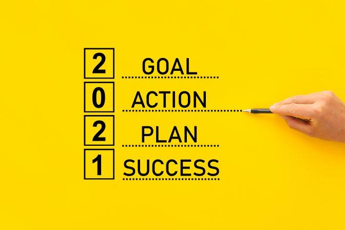 Onze tips voor het formuleren en realiseren van je doelen in 2021